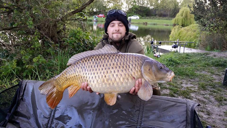 Birkwood carp fishing Main lake 23lbs 090515